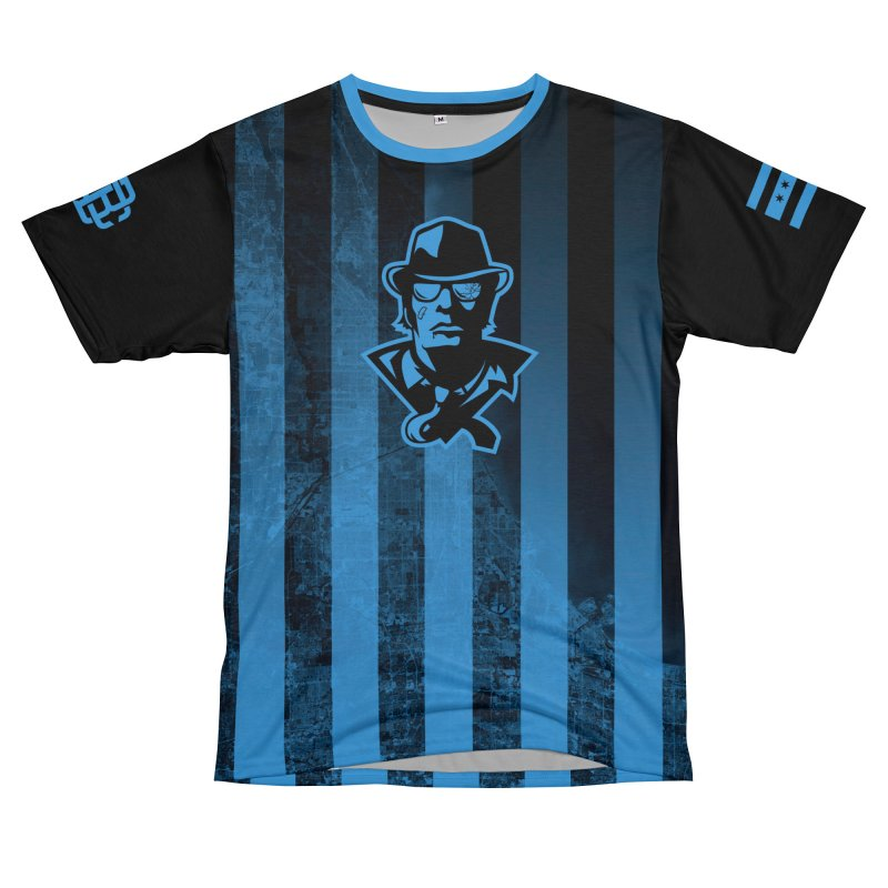 Blackout Series Men's Cut & Sew by Chicago Bruise Brothers Roller Derby