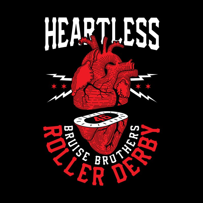 Skater Series: Heartless Women's T-Shirt by Chicago Bruise Brothers Roller Derby