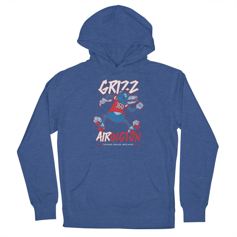Skater Series: Grizz AIRington Women's Pullover Hoody by Chicago Bruise Brothers Roller Derby