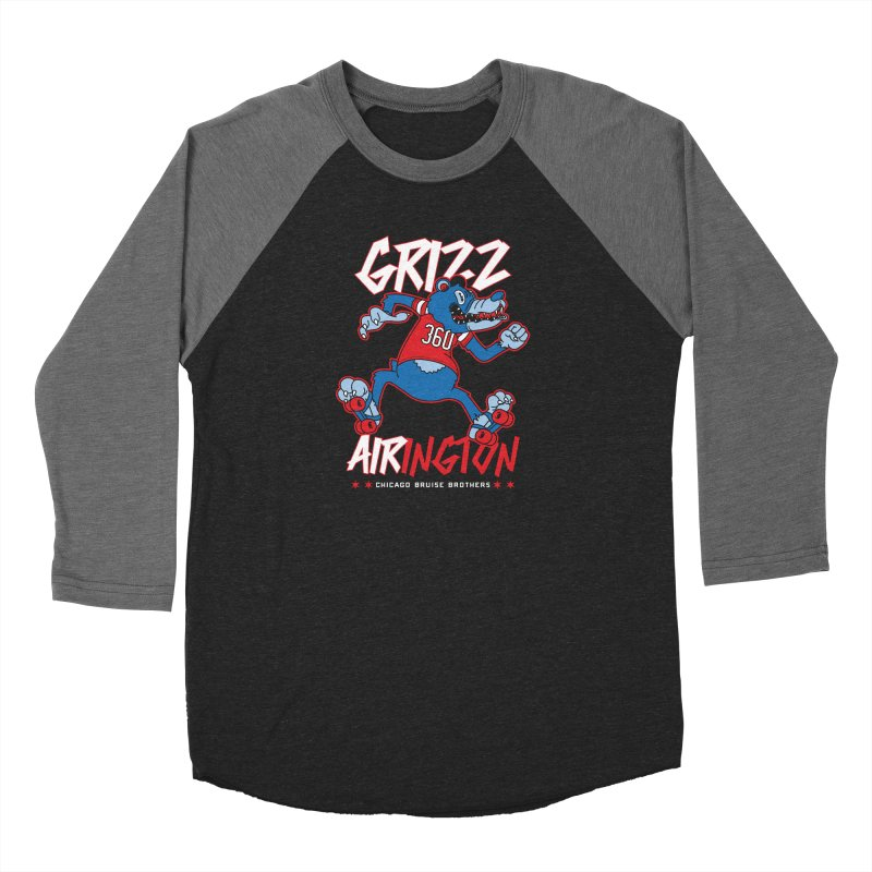Skater Series: Grizz AIRington Women's Longsleeve T-Shirt by Chicago Bruise Brothers Roller Derby