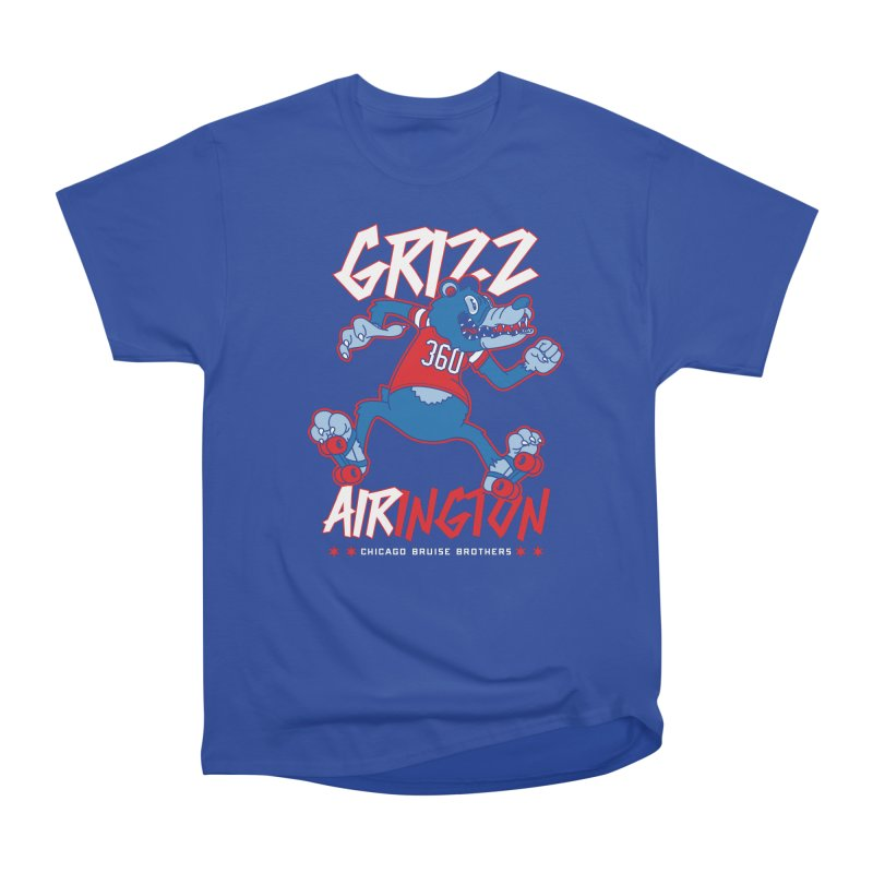 Skater Series: Grizz AIRington Women's T-Shirt by Chicago Bruise Brothers Roller Derby