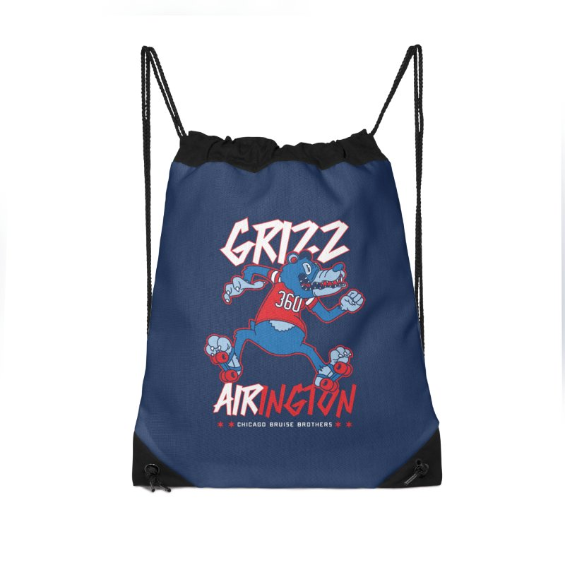 Skater Series: Grizz AIRington Accessories Bag by Chicago Bruise Brothers Roller Derby