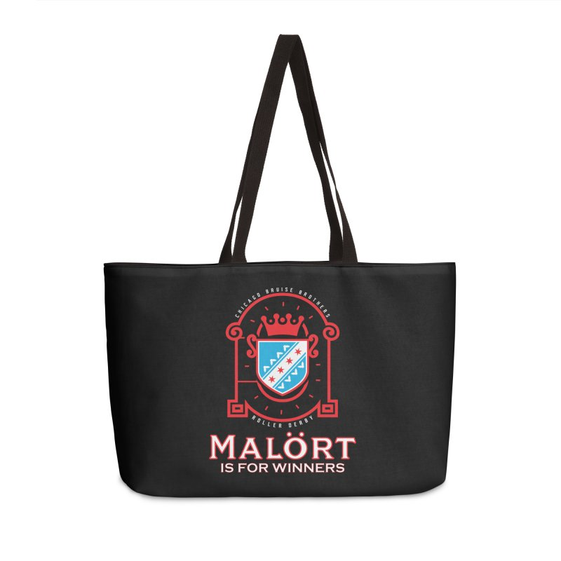 Malört is for Winners Accessories Bag by Chicago Bruise Brothers Roller Derby