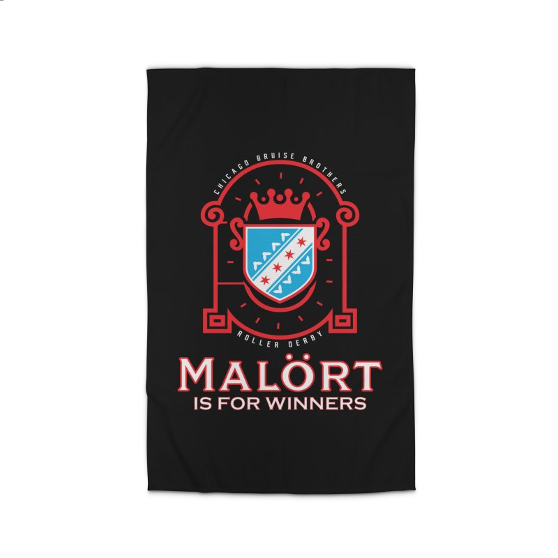 Malört is for Winners Home Rug by Chicago Bruise Brothers Roller Derby