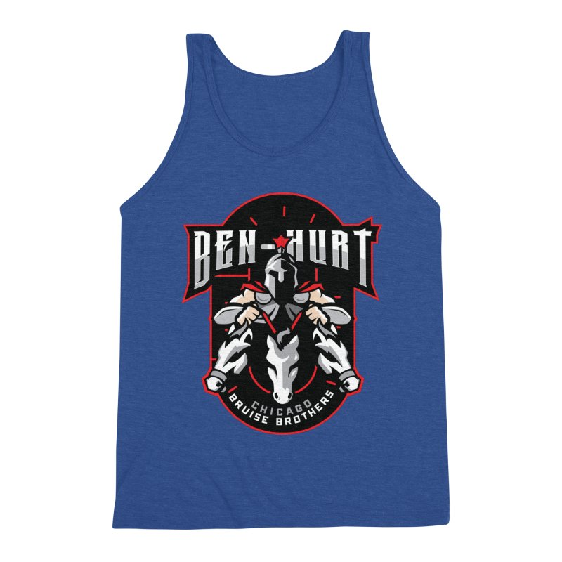 Skater Series: Ben-Hurt Men's Tank by Chicago Bruise Brothers Roller Derby