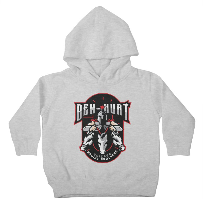 Skater Series: Ben-Hurt Kids Toddler Pullover Hoody by Chicago Bruise Brothers Roller Derby