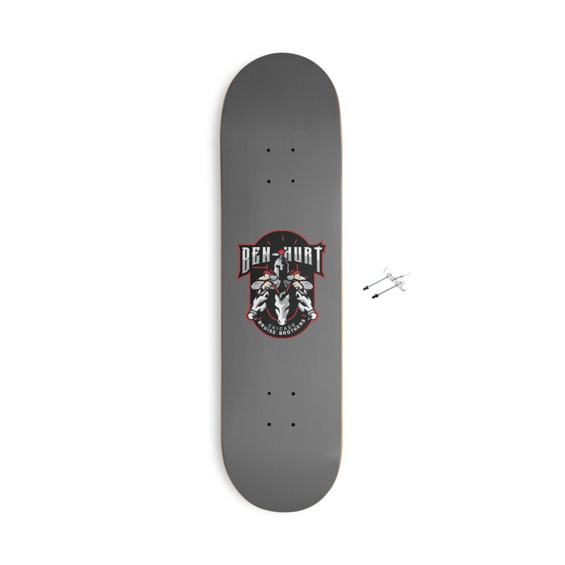 Skater Series: Ben-Hurt Accessories Skateboard by Chicago Bruise Brothers Roller Derby