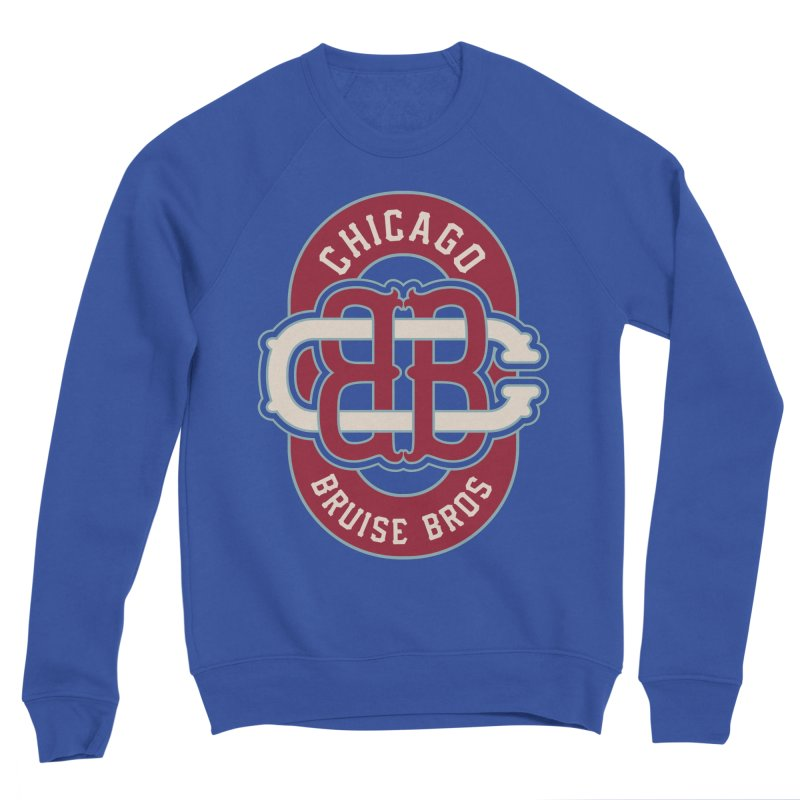 Fauxback - Winter Classic Style Men's Sweatshirt by Chicago Bruise Brothers Roller Derby
