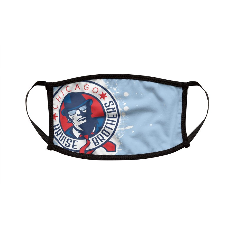 Splatter Accessories Face Mask by Chicago Bruise Brothers Roller Derby