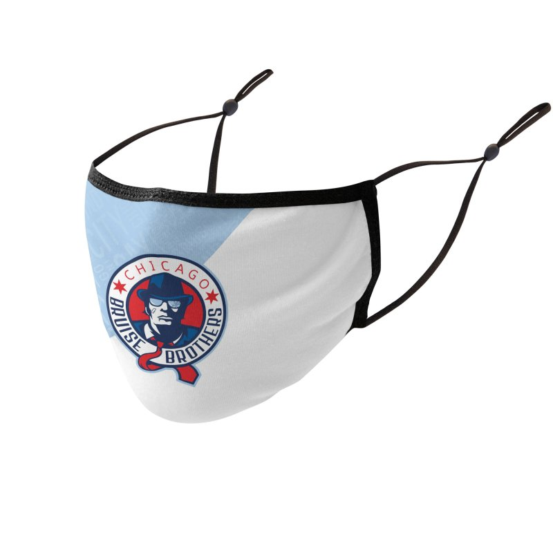 Front and Center Accessories Face Mask by Chicago Bruise Brothers Roller Derby