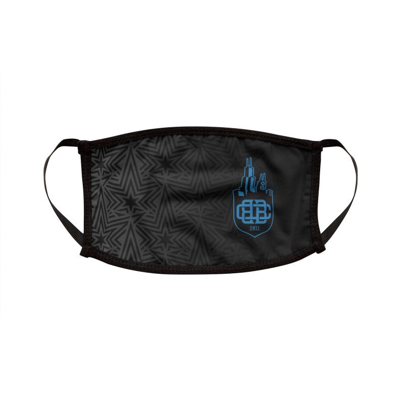 Black and Bruise Accessories Face Mask by Chicago Bruise Brothers Roller Derby