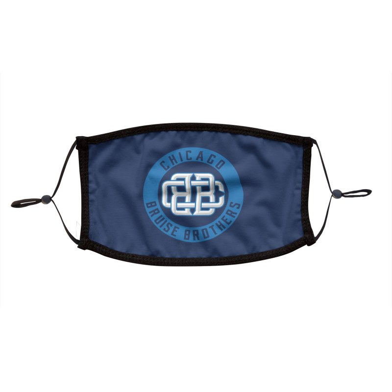 CBB Accessories Face Mask by Chicago Bruise Brothers Roller Derby