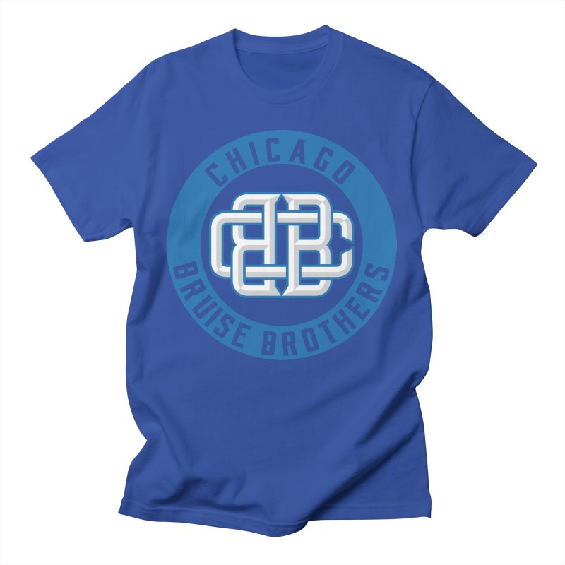 CBB Men's T-Shirt by Chicago Bruise Brothers Roller Derby