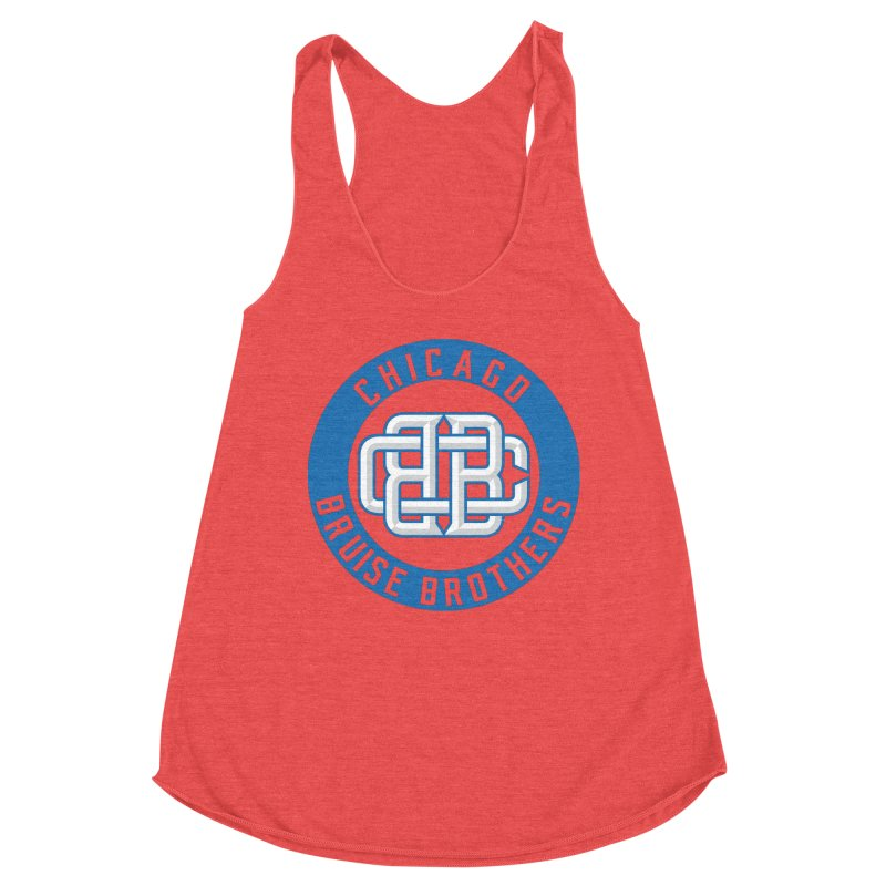 CBB Women's Tank by Chicago Bruise Brothers Roller Derby