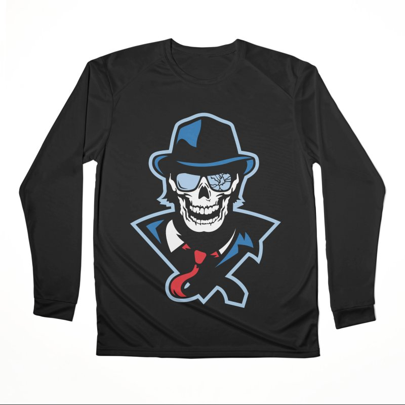 Bones and Bruises Men's Longsleeve T-Shirt by Chicago Bruise Brothers Roller Derby