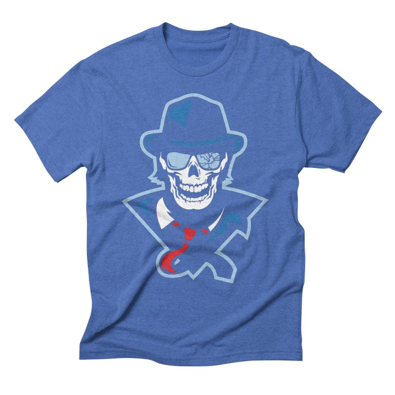 Bones and Bruises Men's T-Shirt by Chicago Bruise Brothers Roller Derby
