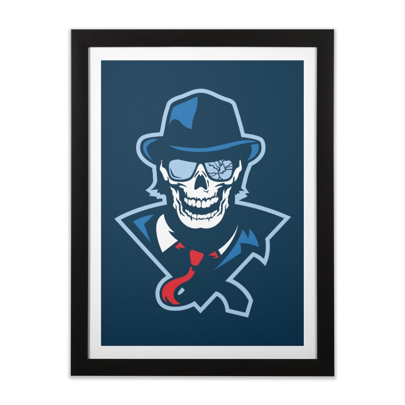 Bones and Bruises Home Framed Fine Art Print by Chicago Bruise Brothers Roller Derby
