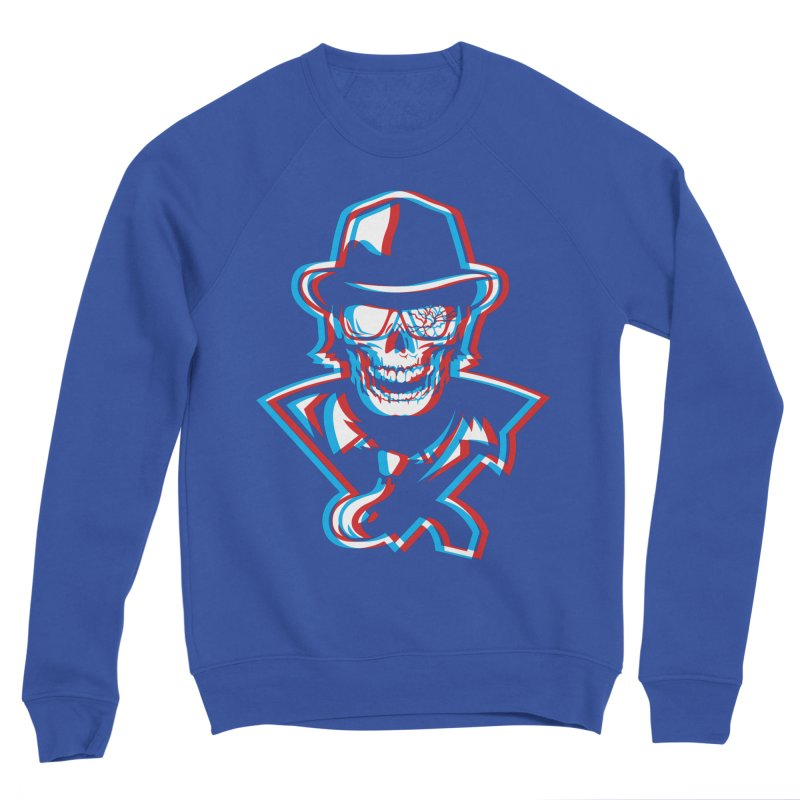 Nightmare Men's Sweatshirt by Chicago Bruise Brothers Roller Derby
