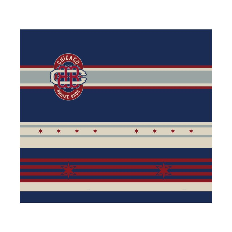 Winter Classic Faux Back Jersey Women's Cut & Sew by Chicago Bruise Brothers Roller Derby