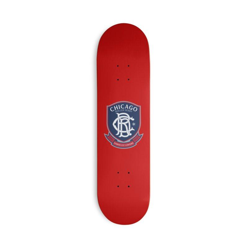 Tempus Est Conterō Accessories Skateboard by Chicago Bruise Brothers Roller Derby