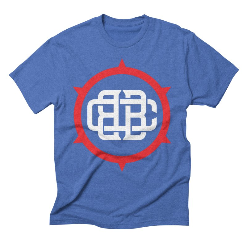 Secondary Crest Men's T-Shirt by Chicago Bruise Brothers Roller Derby