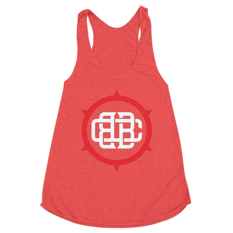 Secondary Crest Women's Tank by Chicago Bruise Brothers Roller Derby