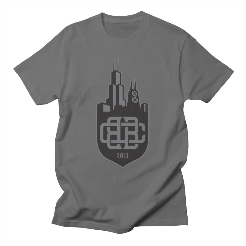 Midnight Crest Men's T-Shirt by Chicago Bruise Brothers Roller Derby