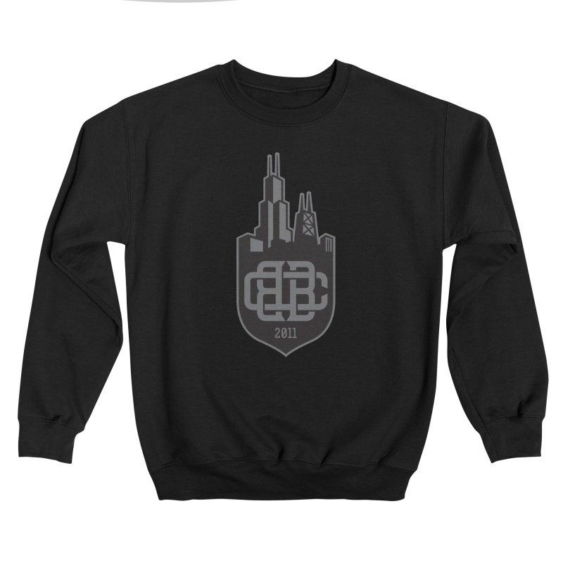 Midnight Crest Women's Sweatshirt by Chicago Bruise Brothers Roller Derby