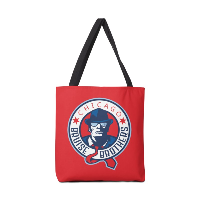Bruise Brothers (Primary Logo) Accessories Bag by Chicago Bruise Brothers Roller Derby