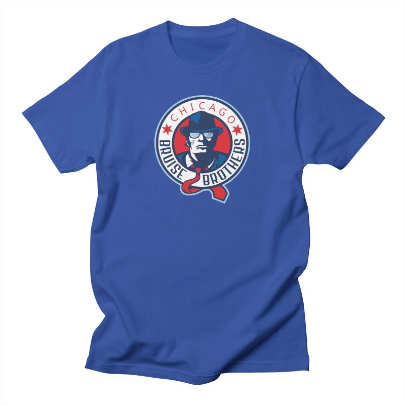 Bruise Brothers (Primary Logo) Men's T-Shirt by Chicago Bruise Brothers Roller Derby