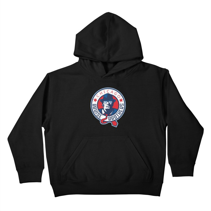 Bruise Brothers (Primary Logo) Kids Pullover Hoody by Chicago Bruise Brothers Roller Derby