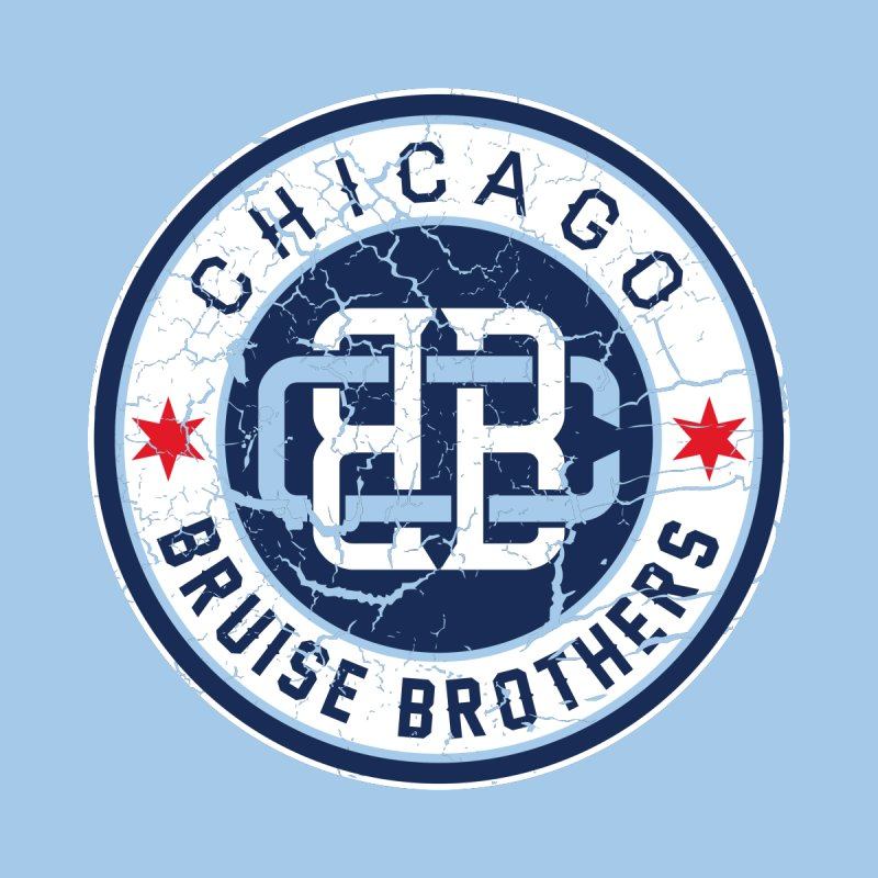 Old School Men's Pullover Hoody by Chicago Bruise Brothers Roller Derby