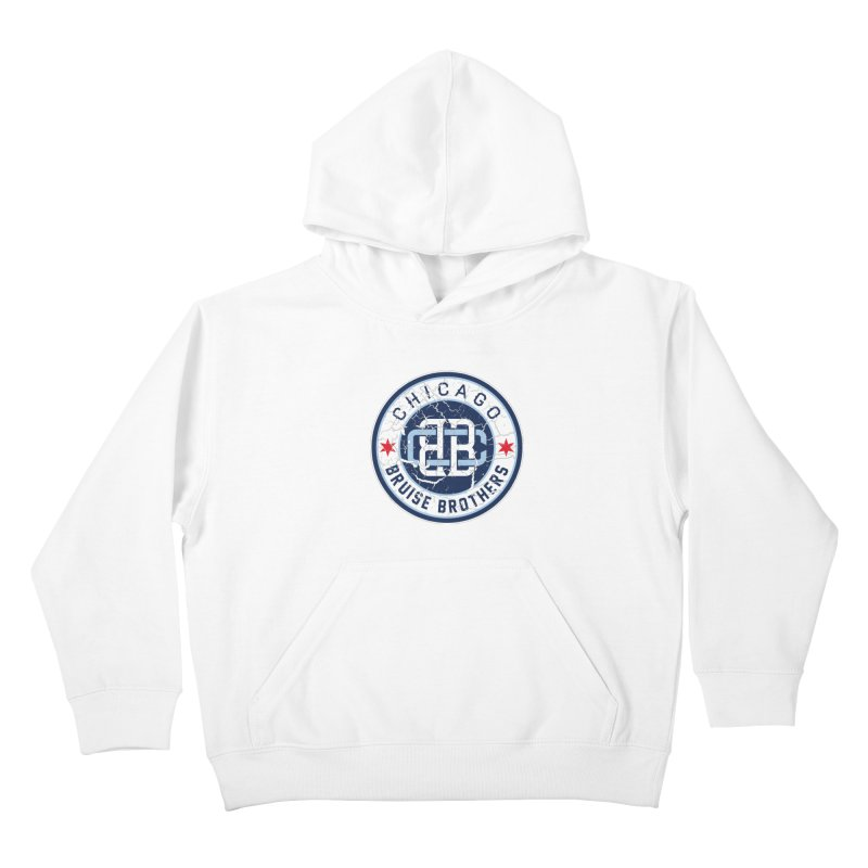 Old School Kids Pullover Hoody by Chicago Bruise Brothers Roller Derby