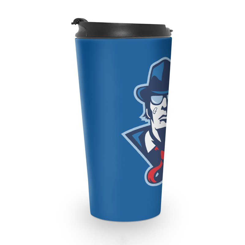 Bruiser Accessories Travel Mug by Chicago Bruise Brothers Roller Derby