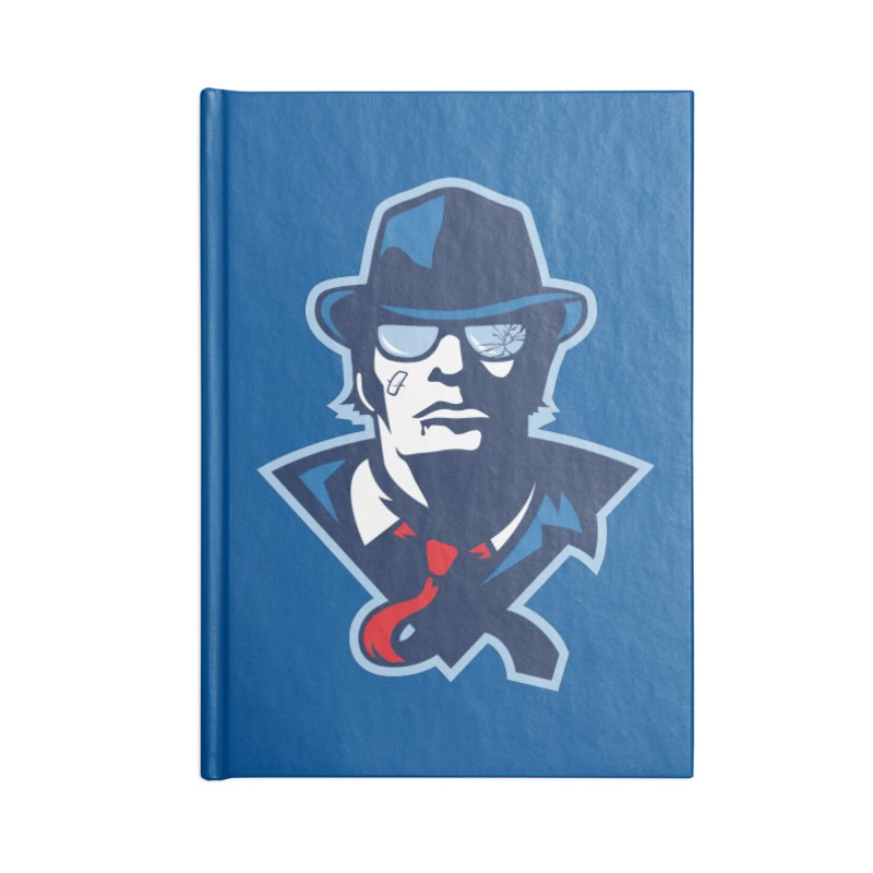 Bruiser Accessories Blank Journal Notebook by Chicago Bruise Brothers Roller Derby