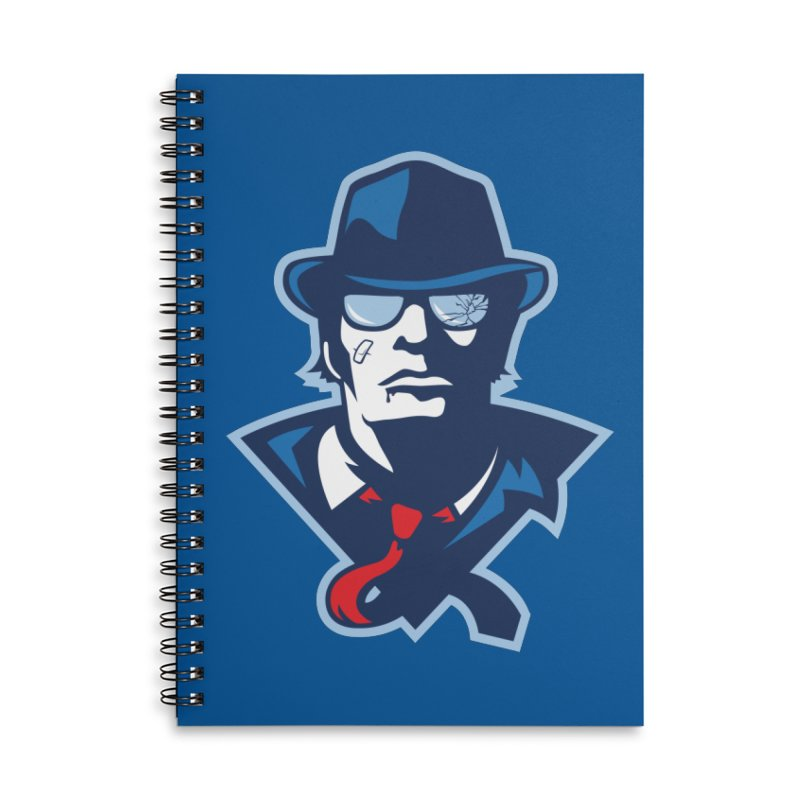 Bruiser Accessories Lined Spiral Notebook by Chicago Bruise Brothers Roller Derby