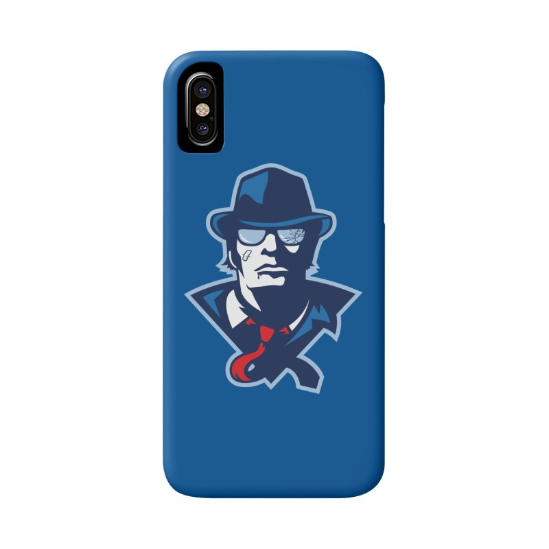 Bruiser Accessories Phone Case by Chicago Bruise Brothers Roller Derby