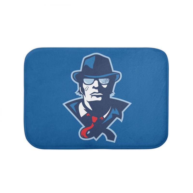 Bruiser Home Bath Mat by Chicago Bruise Brothers Roller Derby