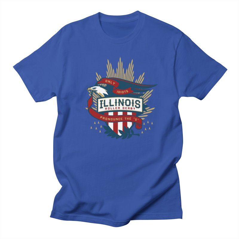 Team Illinois Men's Regular T-Shirt by Chicago Bruise Brothers Roller Derby