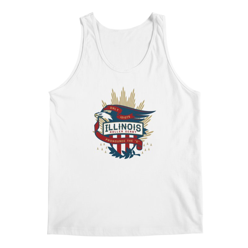 Team Illinois Men's Regular Tank by Chicago Bruise Brothers Roller Derby