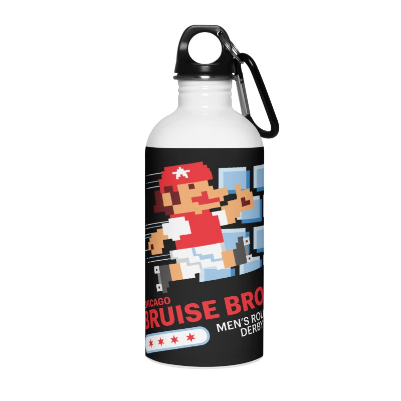 Super Bros. Accessories Water Bottle by Chicago Bruise Brothers Roller Derby