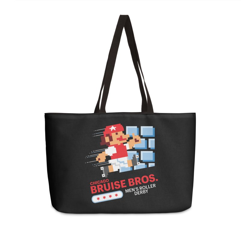 Super Bros. Accessories Weekender Bag Bag by Chicago Bruise Brothers Roller Derby