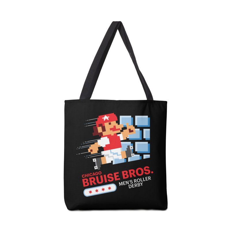 Super Bros. Accessories Bag by Chicago Bruise Brothers Roller Derby