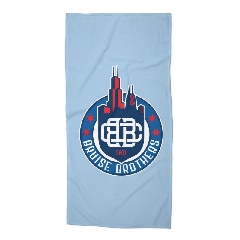 Chicago Bruise Brothers - Since 2011 Accessories Beach Towel by Chicago Bruise Brothers Roller Derby