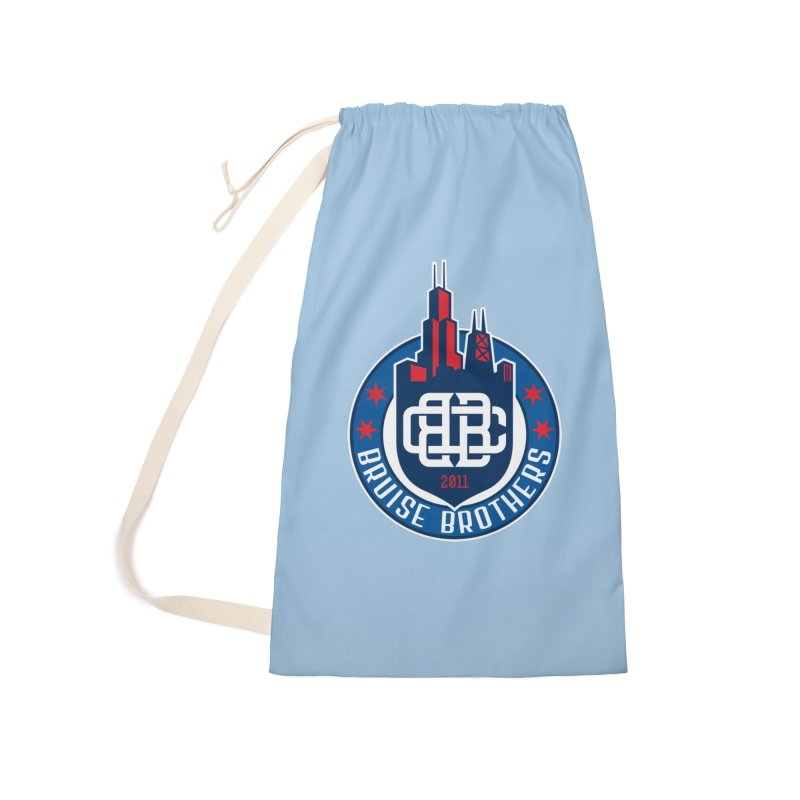 Chicago Bruise Brothers - Since 2011 Accessories Laundry Bag Bag by Chicago Bruise Brothers Roller Derby