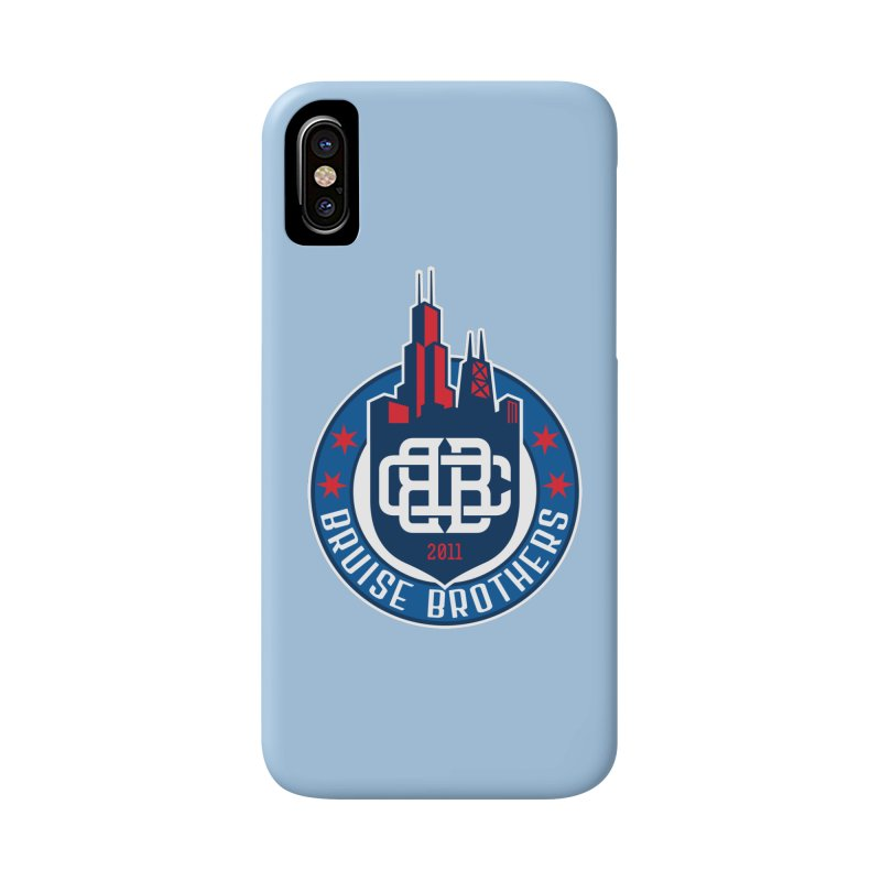 Chicago Bruise Brothers - Since 2011 Accessories Phone Case by Chicago Bruise Brothers Roller Derby