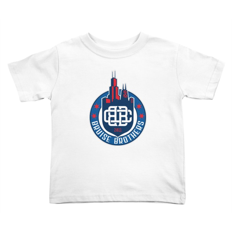 Chicago Bruise Brothers - Since 2011 Kids Toddler T-Shirt by Chicago Bruise Brothers Roller Derby
