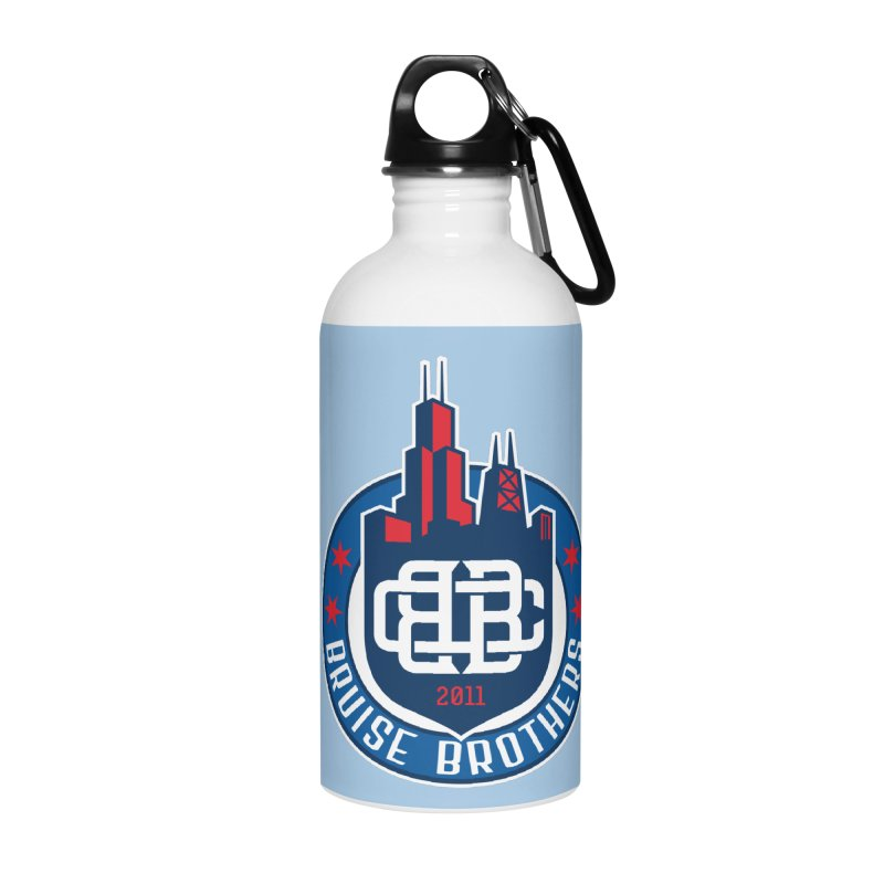 Chicago Bruise Brothers - Since 2011 Accessories Water Bottle by Chicago Bruise Brothers Roller Derby