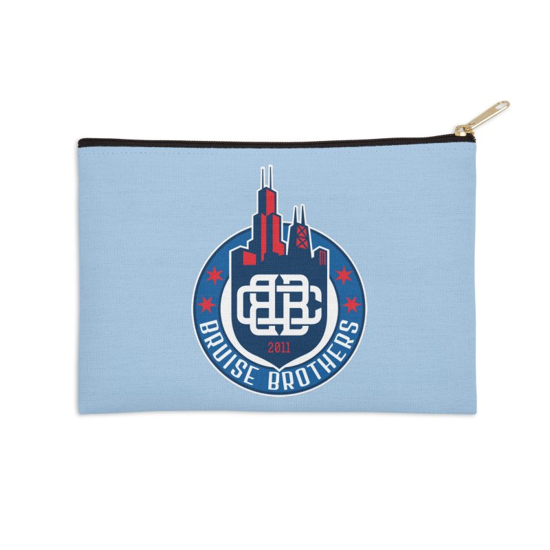 Chicago Bruise Brothers - Since 2011 Accessories Zip Pouch by Chicago Bruise Brothers Roller Derby
