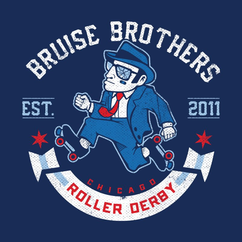 Old School Bruiser None  by Chicago Bruise Brothers Roller Derby